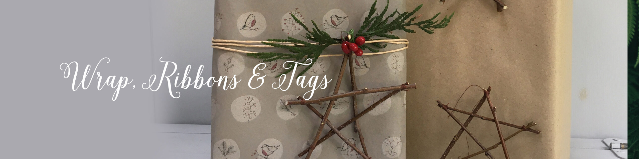 Wrap, Ribbon & Tags
